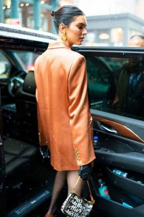 Kendall Jenner Fashion Casual Work Blazer