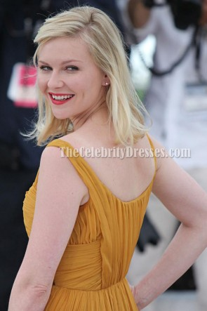 Kirsten Dunst Cocktail Dress 2011 Cannes Film Festival Celebrity Red Carpet Dresses