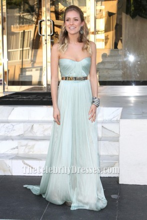 Kristin Cavallari Light Blue Prom Dress Marine Corps Ball Red Carpet