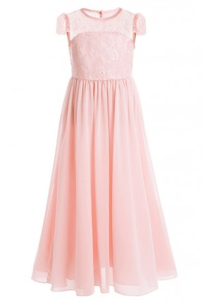 Lace Chiffon Junior Bridesmaid Dress