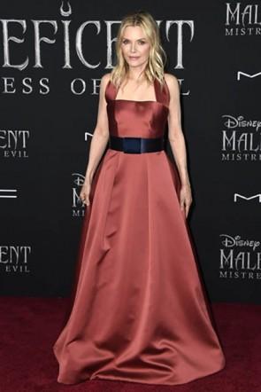 Michelle Pfeiffer Halter Belt Dress Mistress of Evil