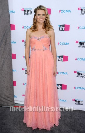 Missi Pyle Pink Evening Dress Critics Choice Awards 2012 Celebirty Dresses