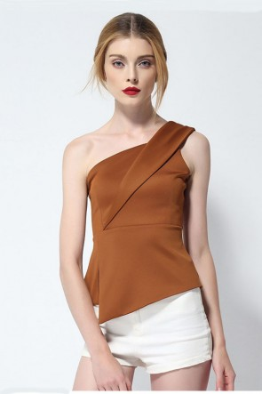 One Shoulder Top TCDMU0003