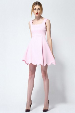 Short Pink A-Line Party Homecoming Dress 3 Colors TCDMU0009