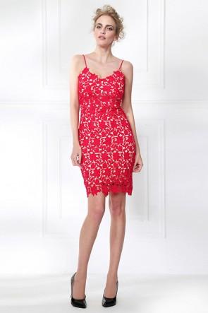 Short Mini Spaghetti Straps Party Dresses TCDMU0055