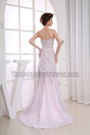 Sequined Mermaid Formal Evening Dress Prom Gown