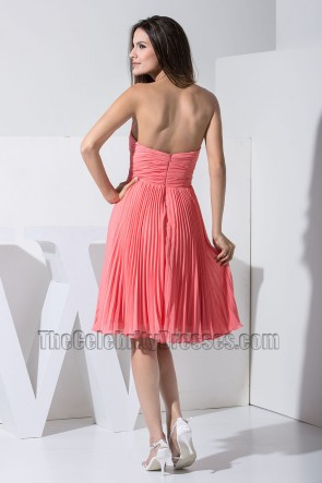 New Style Strapless Sweetheart Cocktail Dress Party Homecoming Dresses