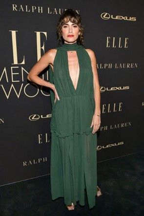 Nikki Reed Hunter Cutout Dress 2019 Elle Women In Hollywood
