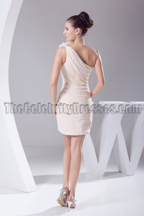 One Shoulder Party Homecoming Graduation Dresses
