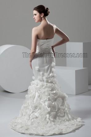 Trumpet/Mermaid Strapless Sweetheart Bridal Gown Wedding Dress