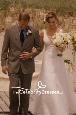 Wedding Dress Katherine Heigl' wedding dress in movie 27 Dresses