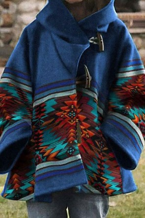 Women's Vintage Hooded Coat