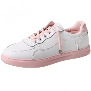 Women's PU With Lace-up Sneakers