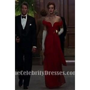 Julia Roberts Red Evening Prom Dress in Pretty Woman