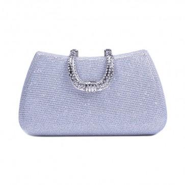New Simple Style Women['s Evening Bag Diamond Studded Mini Purse Handbag TCDBG0115