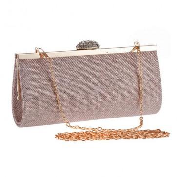 Ladies Simple Handbags PU Mini Square Clutch Bags TCDBG0131