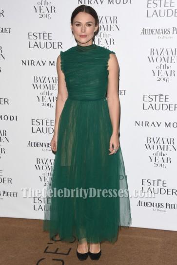 Keira Knightley Ärmelloses Abendkleid Harper's Bazaar Frauen des Jahres Awards