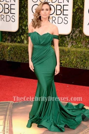 Keltie Knight Golden Globe Awards 2016 Off-the-Shoulder Meerjungfrau Abendkleid
