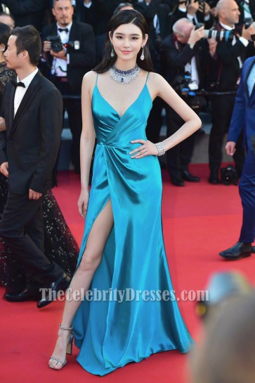Ming Xi Backless Abendkleid Cannes Film Festival 2017 Red Carpet Gown
