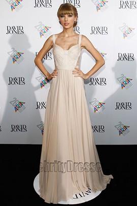 Taylor Swift Prom Dress ARIA Awards 2012 Red Carpet Dresses