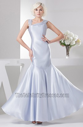 Trumpet/Mermaid Lavender Floor Length Prom Gown Evening Formal Dress