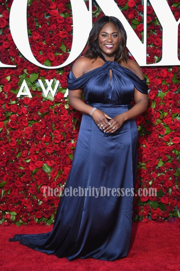 Danielle Brooks Plus Size Evening Dress 70th Annual Tony Awards 5
