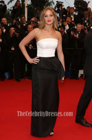 Jennifer Lawrence Formal Dress Cannes Film Festival Red Carpet