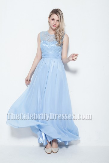 New Style Floor Length Lace Prom Dress Evening Gowns