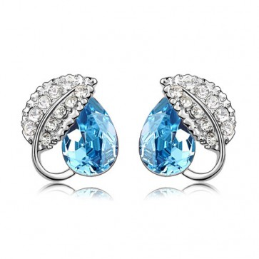New Fashion Austrain Crystal Stud Eearrings For Cheap 2