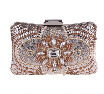 Women Fashion Evening Bag Beaded Clutch Party Mini Purse TCDBG6000-01