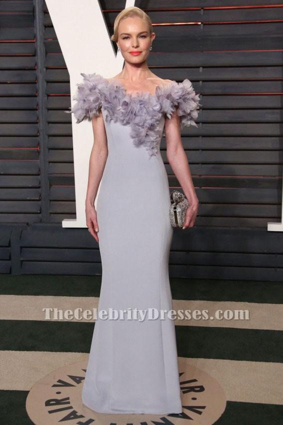 Kate Bosworth 2016 Oscar After Party Kleid Silber Abendkleid ...