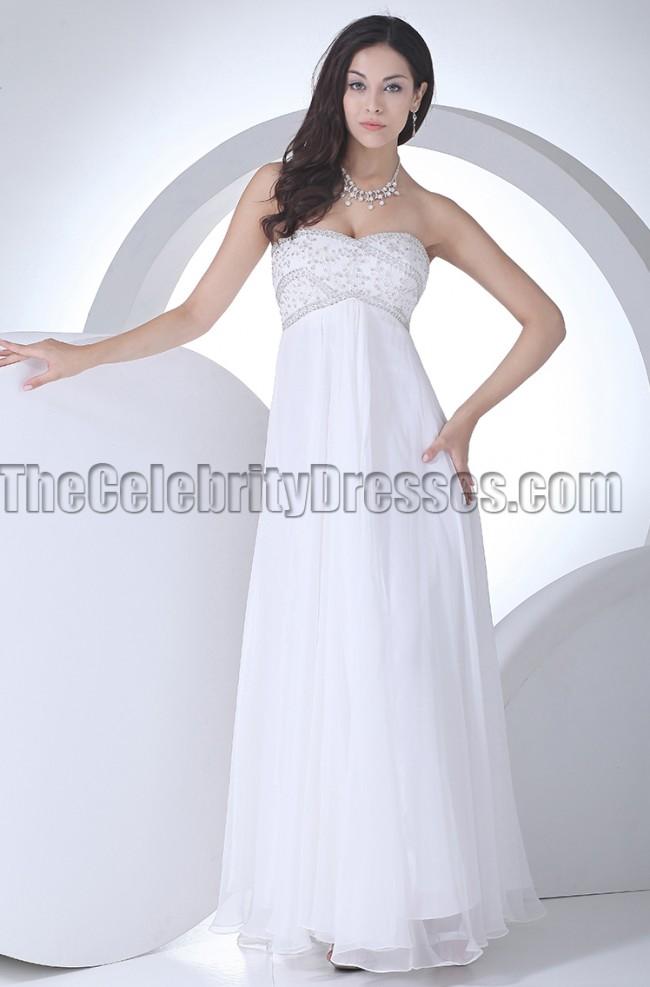Strapless Sweetheart Wedding Dresses   Strapless Sweetheart A Line Beaded Wedding Dress Prom Gown