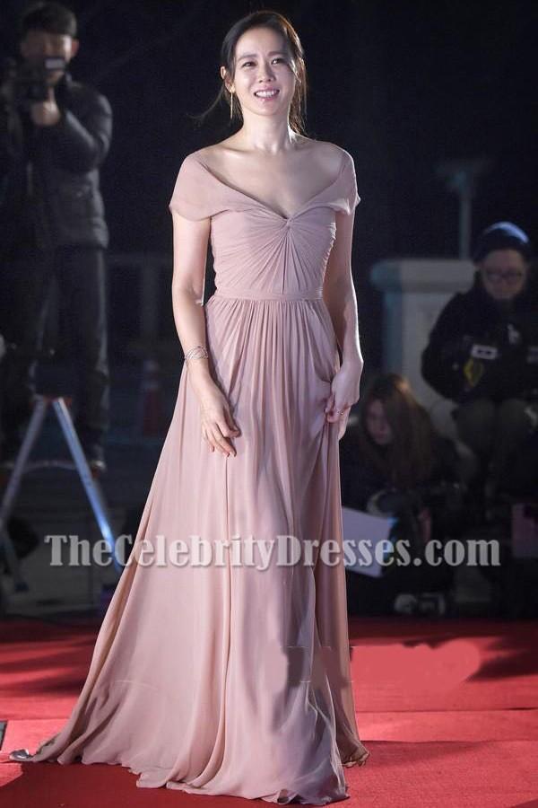 Celebrity Inspired Cap Ärmel A-Line Prom Kleid Brautjungfer Kleider ...