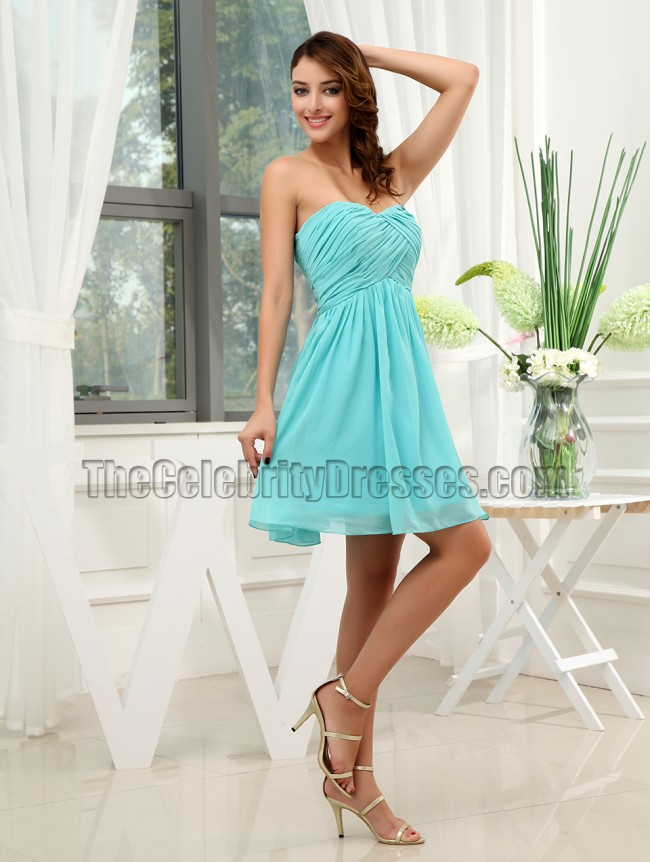 Cute Chiffon A-Line Party Dress Cocktail Homecoming Dresses ...
