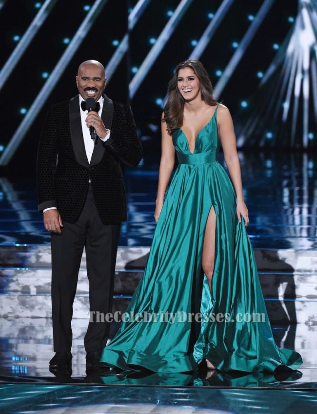 Paulina Vega Abendkleid 2015 Miss Universe Festzug Kleid ...