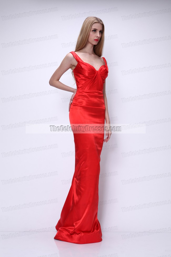 dita von teese rote prom kleid festlich festkleid thecelebritydresses. Black Bedroom Furniture Sets. Home Design Ideas