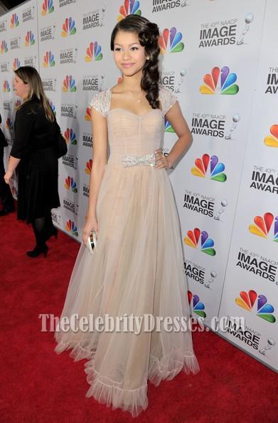 Zendaya Coleman Abendkleid NAACP Image Awards 2012 Red Carpet ...