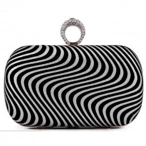 Ladies Simple OL Bag Fashion Evening Clutch Handbag Party Purse 6