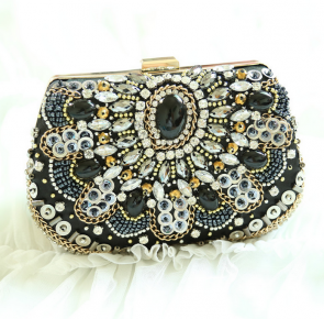 Women's Beaded Dress Clutch Popular Design Shining Lady Evening Bag TCDBG0090
