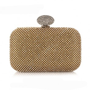 Women's Mini Fashion Evening Bag Party Diamond Clutch Purse 2