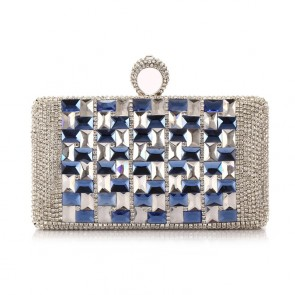 New Luxury Mini Evening Bag Women Party Diamond Clutch Handbag 2