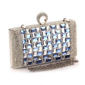 New Luxury Mini Evening Bag Women Party Diamond Clutch Handbag TCDBG0103