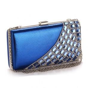 New Luxury Women's Evening Bag Party Diamond Clutch Purse TCDBG0104