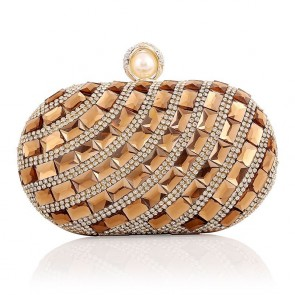 New Luxury Diamond Studded Evening Bag Ladies Party Formal Handbag TCDBG0113