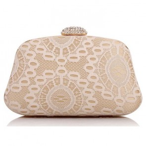 New Simple Lace Mini Handbag Women's Party Evening Clutch Bags TCDBG0130