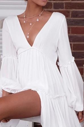 White Drop-dead Sexy Mini Dress
