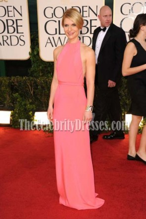 Claire Danes 2010 Golden Globe Awards Red Carpet Dress Evening Dresses