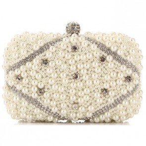 Ladies Fashion Handmade Pearl Bags Mini Party Handbags Clutch Bag TCDBG0133