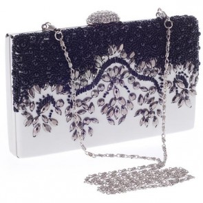 New Fashion Beading Clutch Bags Women Simple Evening Handbag TCDBG0134