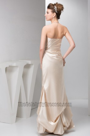 Elegantes trägerloses Schatz-Abendkleid Ballkleid